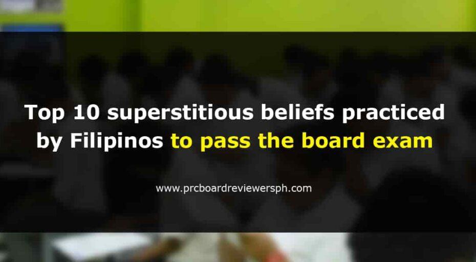 superstitious beliefs